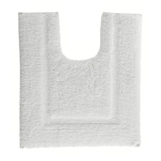 Christy Supreme Hygro White Tufted Pedestal Mat