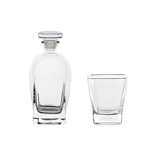 Ducale Decanter and Tumblers