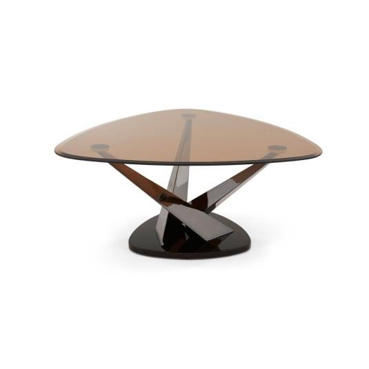 Lana Smoked Glass Coffee Table