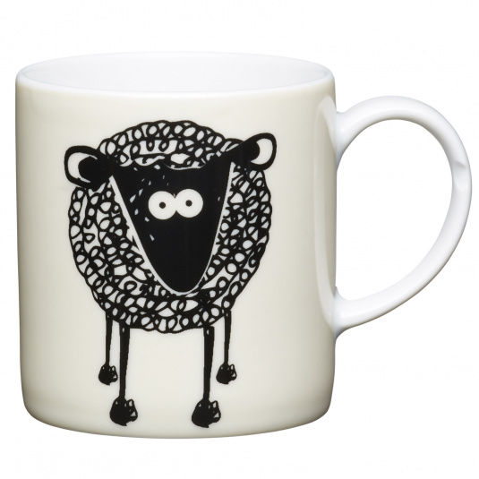 Sheep Porcelain Espresso Cup