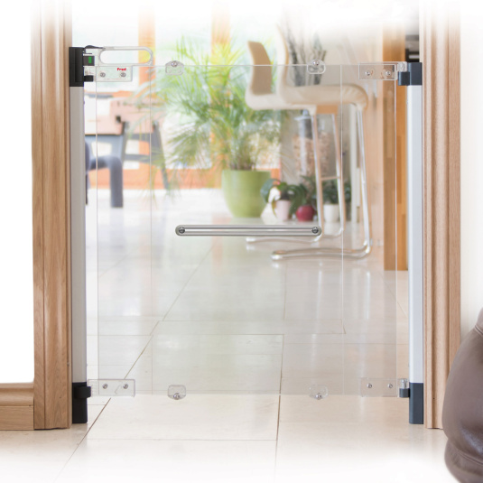 Fred Screw Fit Clear-View Stair Gate