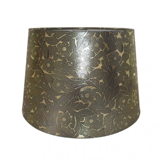 Foil Empire 12 Inch Gold Lamp Shade