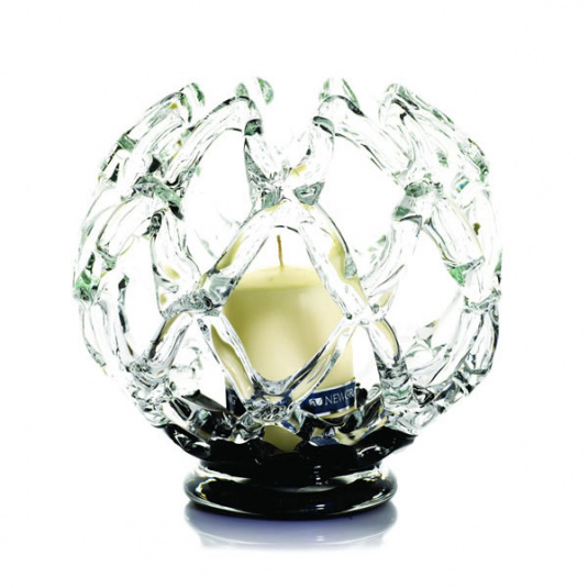 Inet Candle Holder with Black Base