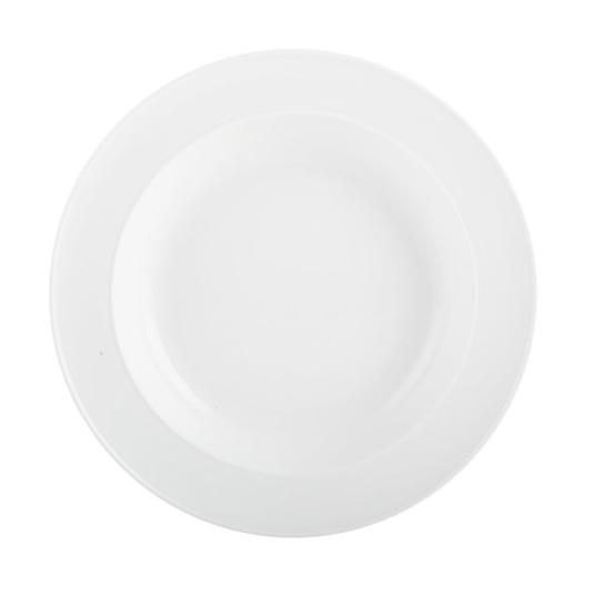 M By Mikasa Whiteware Ridged Pasta Bowl