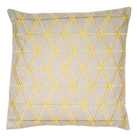 Malini Ludwig Mustard Cushion