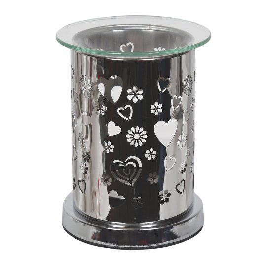 Metal Heart Wax Melt Burner