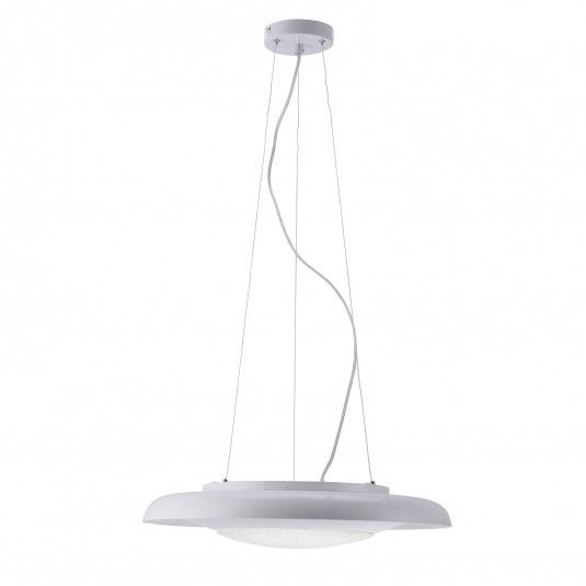Sardinia LED Switchdim White Pendant Light