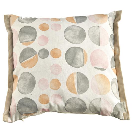 Pax Lemon Twist Wrap Border Cushion