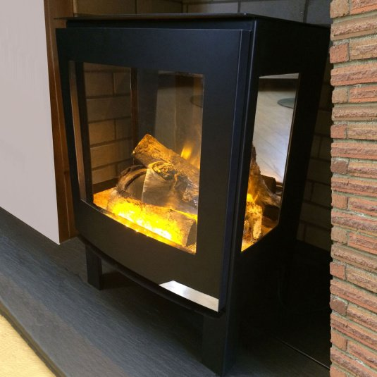 Evonic Fires Banff3 Black Electric Stove