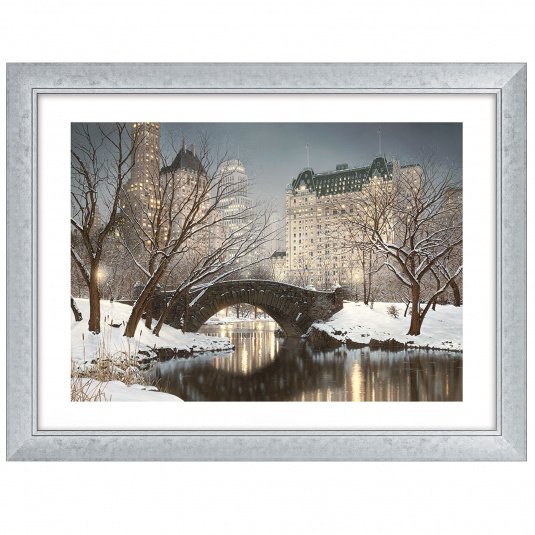 Central Park Winter by Rod Chase