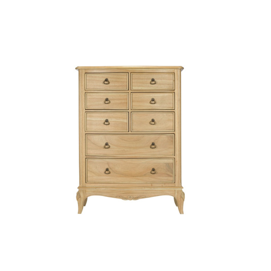 Liberty 8 Drawer Tall Wide Chest of Drawers