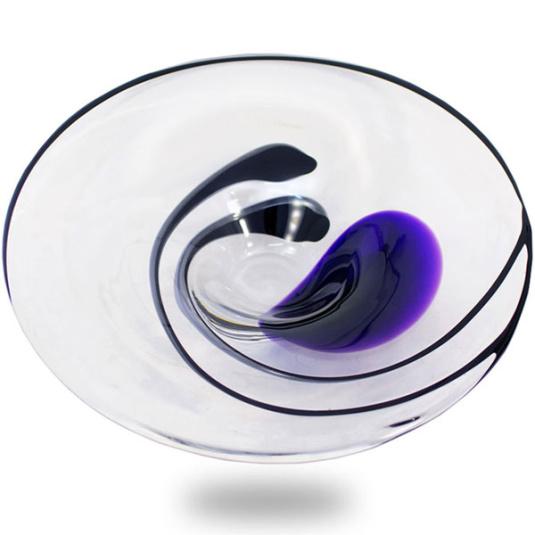 Svaja Violet Orchid Plate