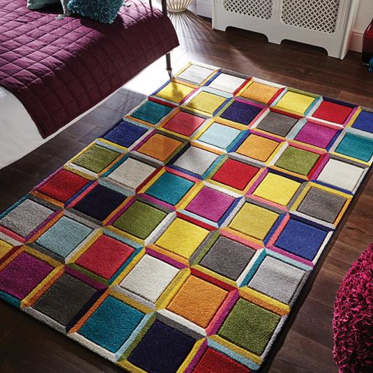Spectrum Waltz Multi Coloured 80cm x 150cm Rug