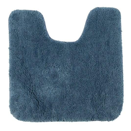 Allure Microfibre mid Blue Pedestal Mat