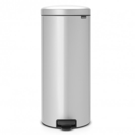 Brabantia 30 Litre NewIcon Metallic Grey Pedal Bin