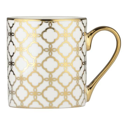 Links Gold Straight Mug