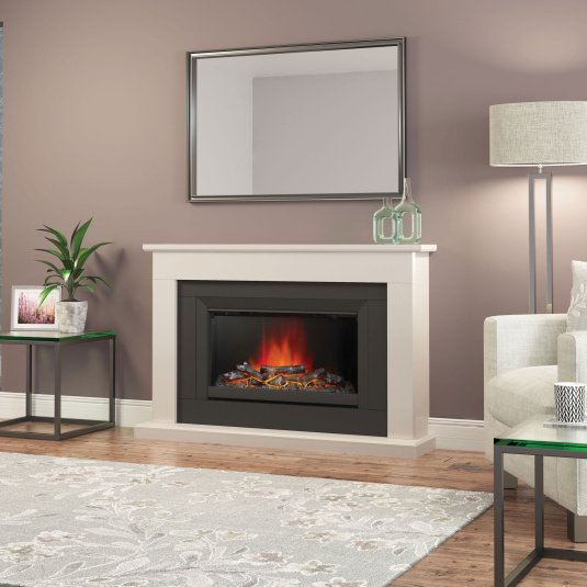 Anise Electric Fireplace Suite