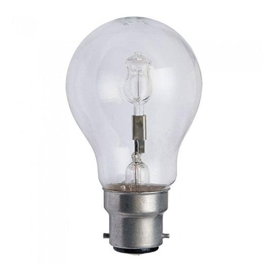 Crompton Halogen Clear GLS BC B22 42W Light Bulb