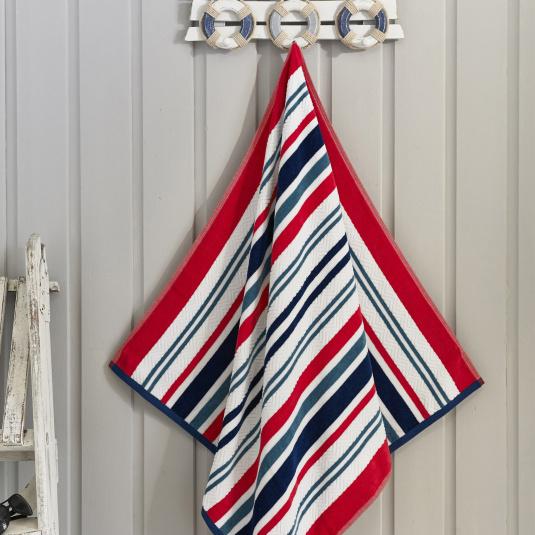 Marbeille Cool Stripe Beach Towel