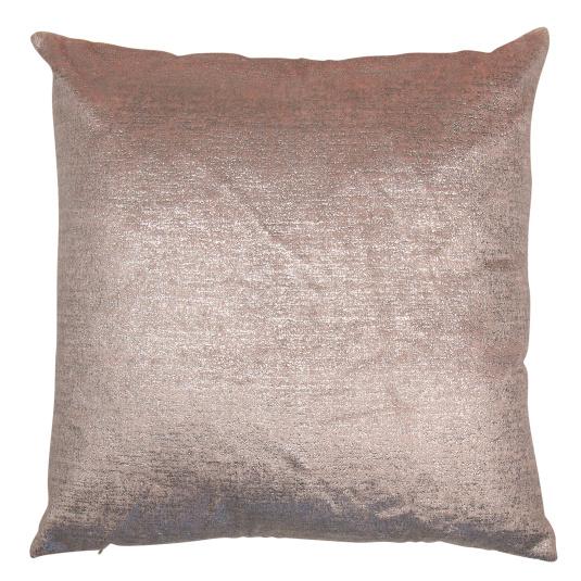 Malini Jem Metallic Pink Cushion
