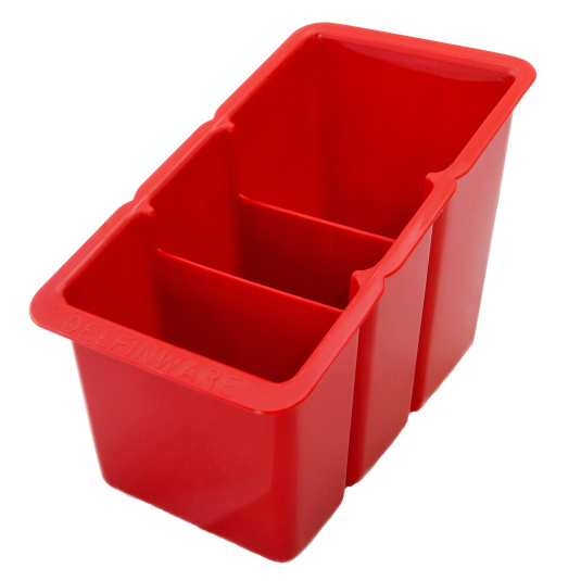 Red Cutlery Drainer