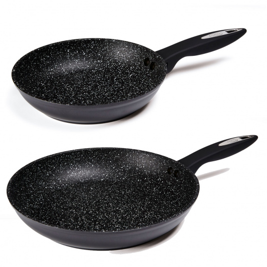 Zyliss Rockpearl Non-Stick 2 Piece Frying Pan Set