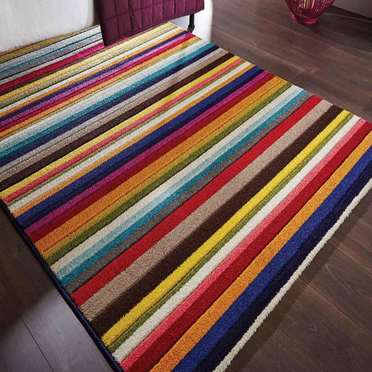 Spectrum Tango Multi Coloured 80cm x 150cm Rug