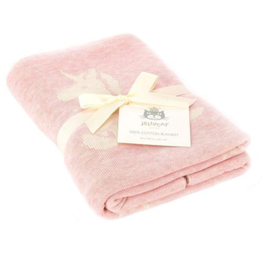 Bashful Unicorn Blanket