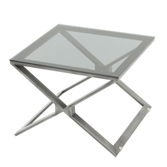 Harlem Glass Side Table