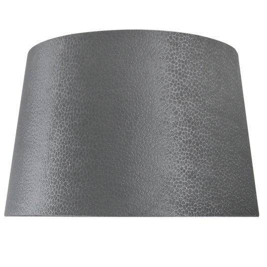 Faux Suede Grey Snakeskin Light Shade Collection