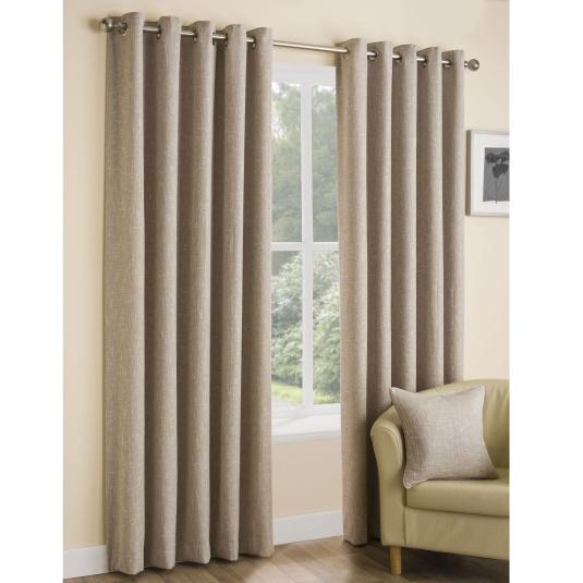 Belfield Huxley Oatmeal Curtains