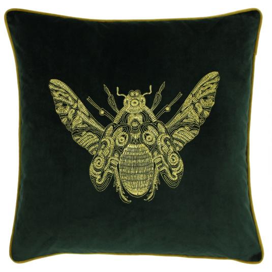 Riva Paoletti Cerana Cushion in Emerald