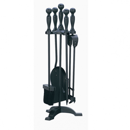 Black Companion Fireside Tool Set
