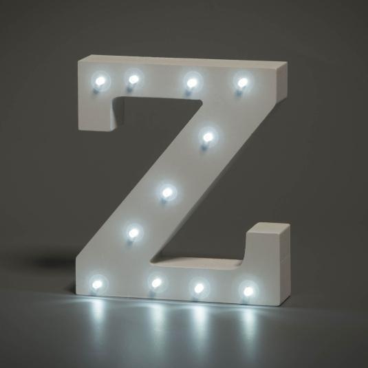 Light Up Letter - Z