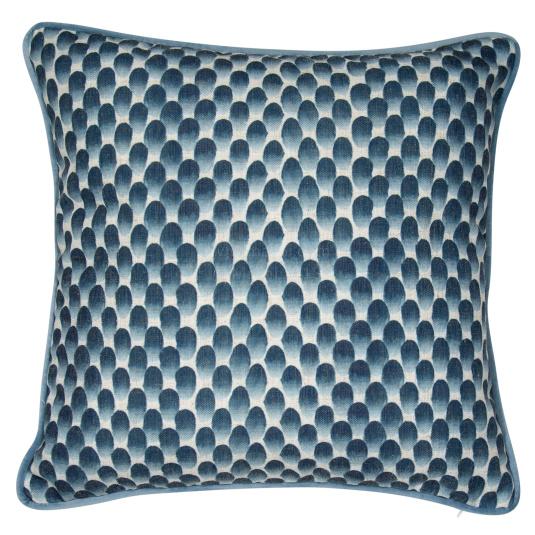 Malini Impression Blue Cushion