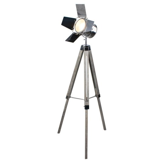 Tripod Movie Floor Lamp