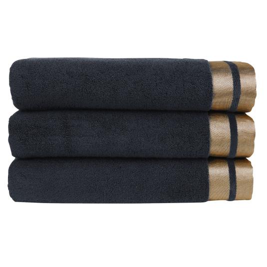 Christy Mode Flint & Gold Bath Towel