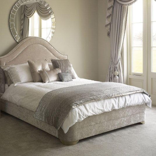 Serenity Indulgence Pearl Bed Frame Collection