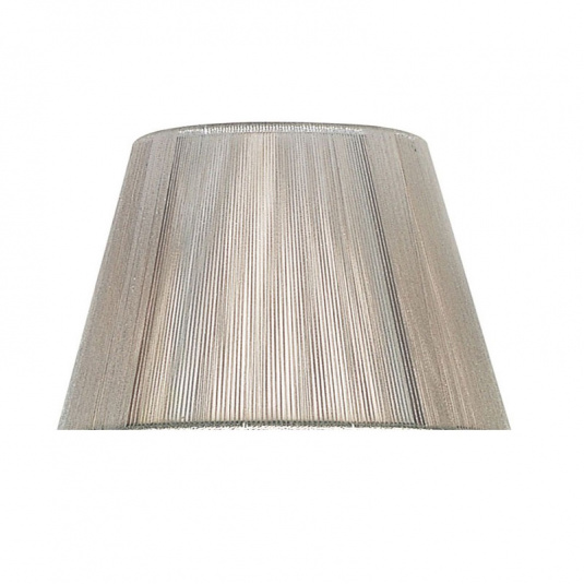 Silver Silk String 30cm Shade