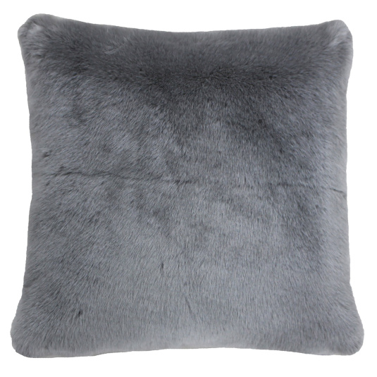 Riva Paoletti Russ Grey Square Cushion