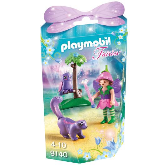 Playmobil Fairies Fairy Girl with Animal Friends