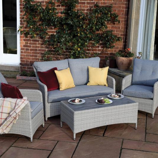 Supremo Valencia Rattan Garden Lounge Set - Lifestyle | Housing Units