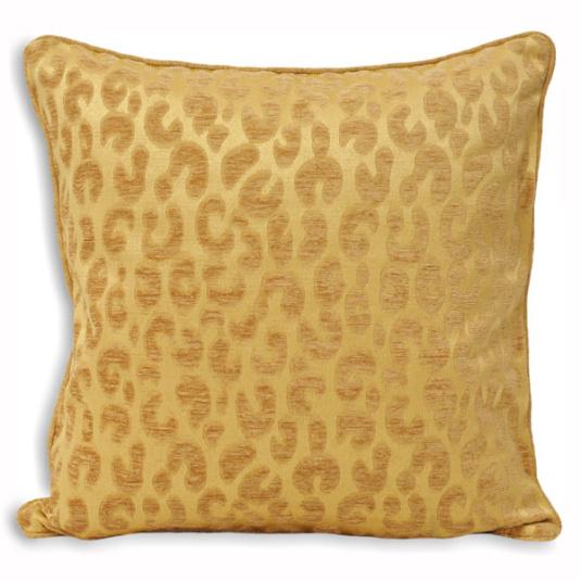 Riva Paoletti Mahiki Gold Cushion