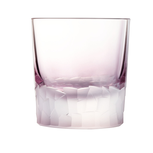 Intuition Colours Set of 6 Amethyst Double Old Fashioned Glasses