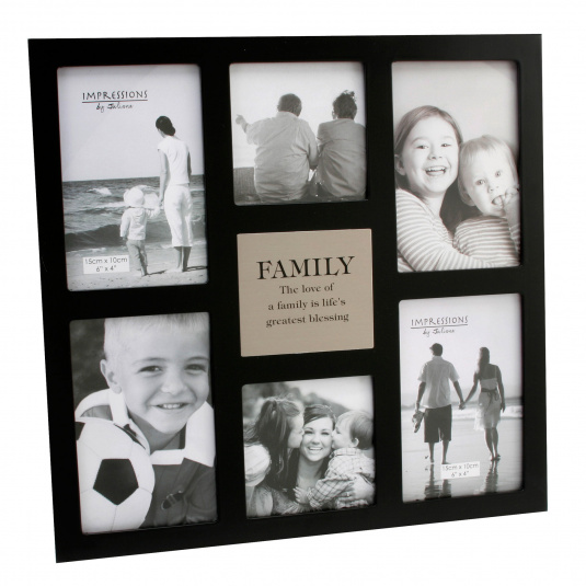 Six Pictures Family Photo Frame