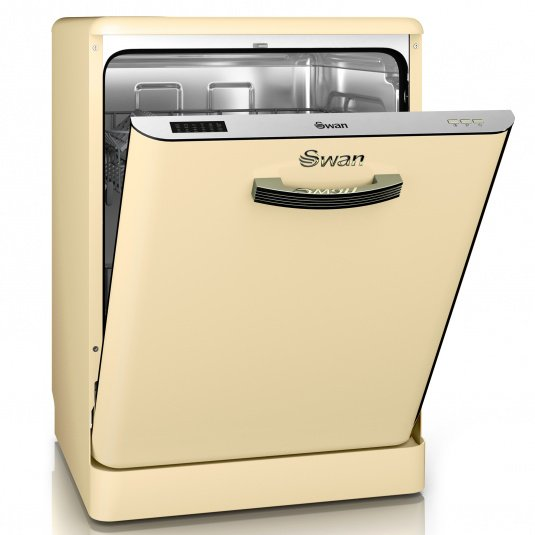 Swan Retro Cream Dishwasher
