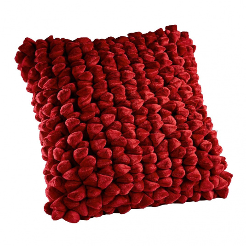 Dreamweavers Cherry Pebble Cushion