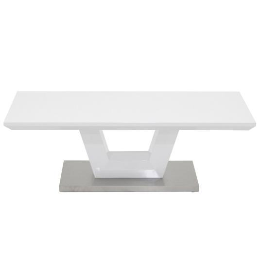 Vega White High Gloss Coffee Table