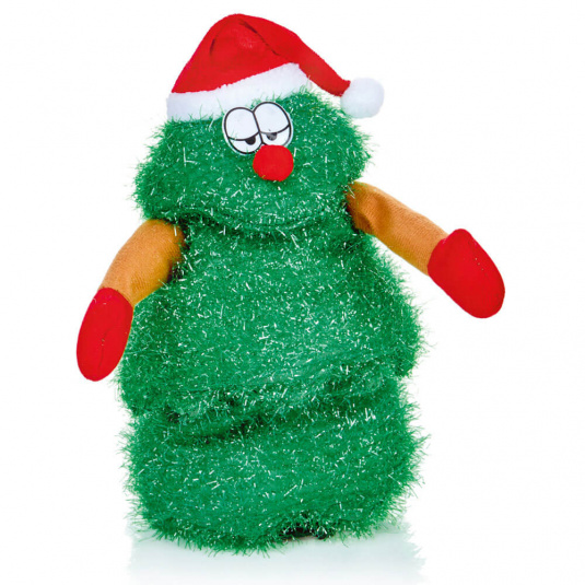 Battery Operated Singing Christmas Tree Toy | Housing Units