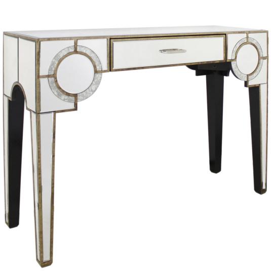 Antique Mirror Console Table